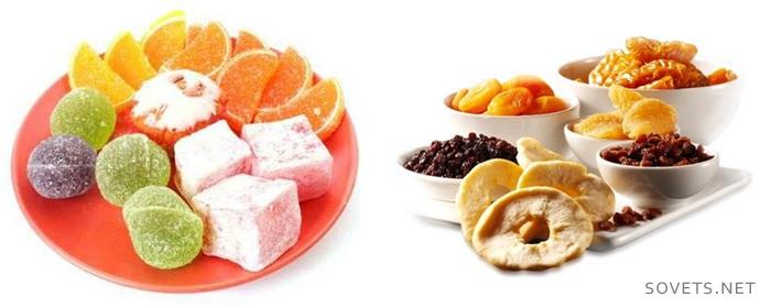 Какие сладости есть на диете